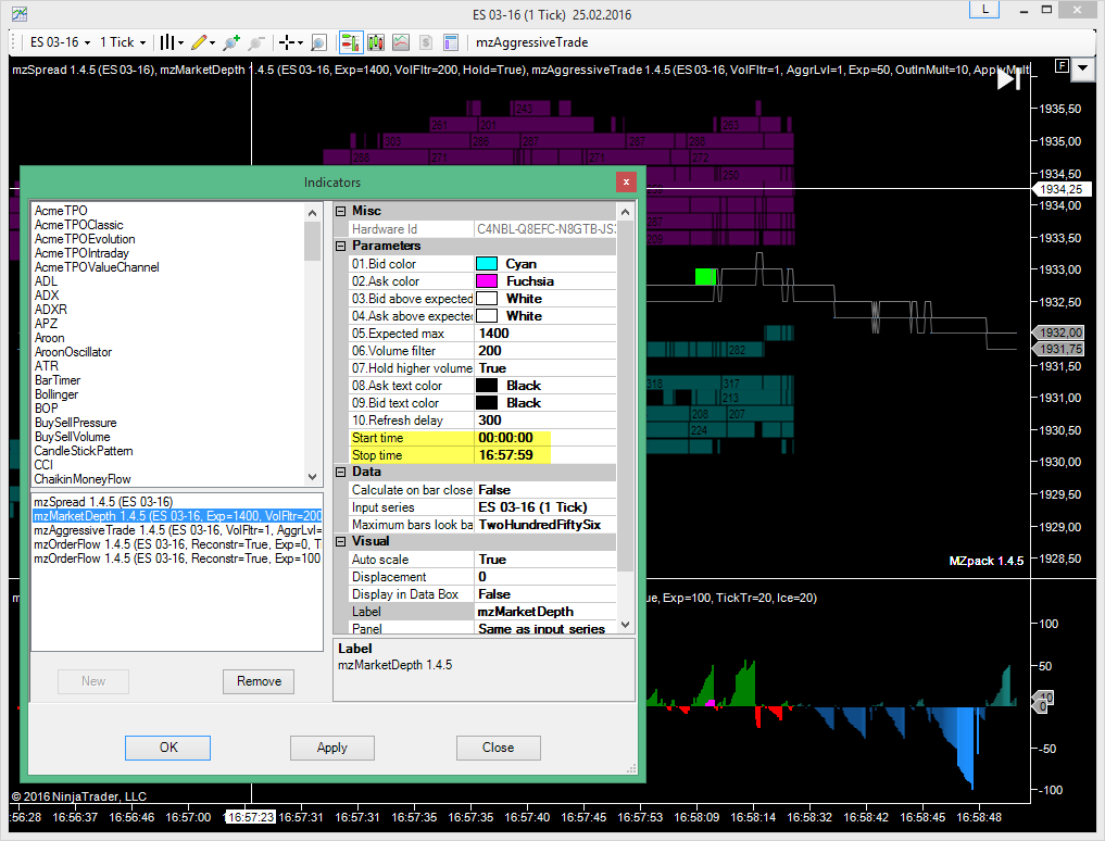 MZpack-NinjaTrader-Indicators-Start-Stop-Time-Settings